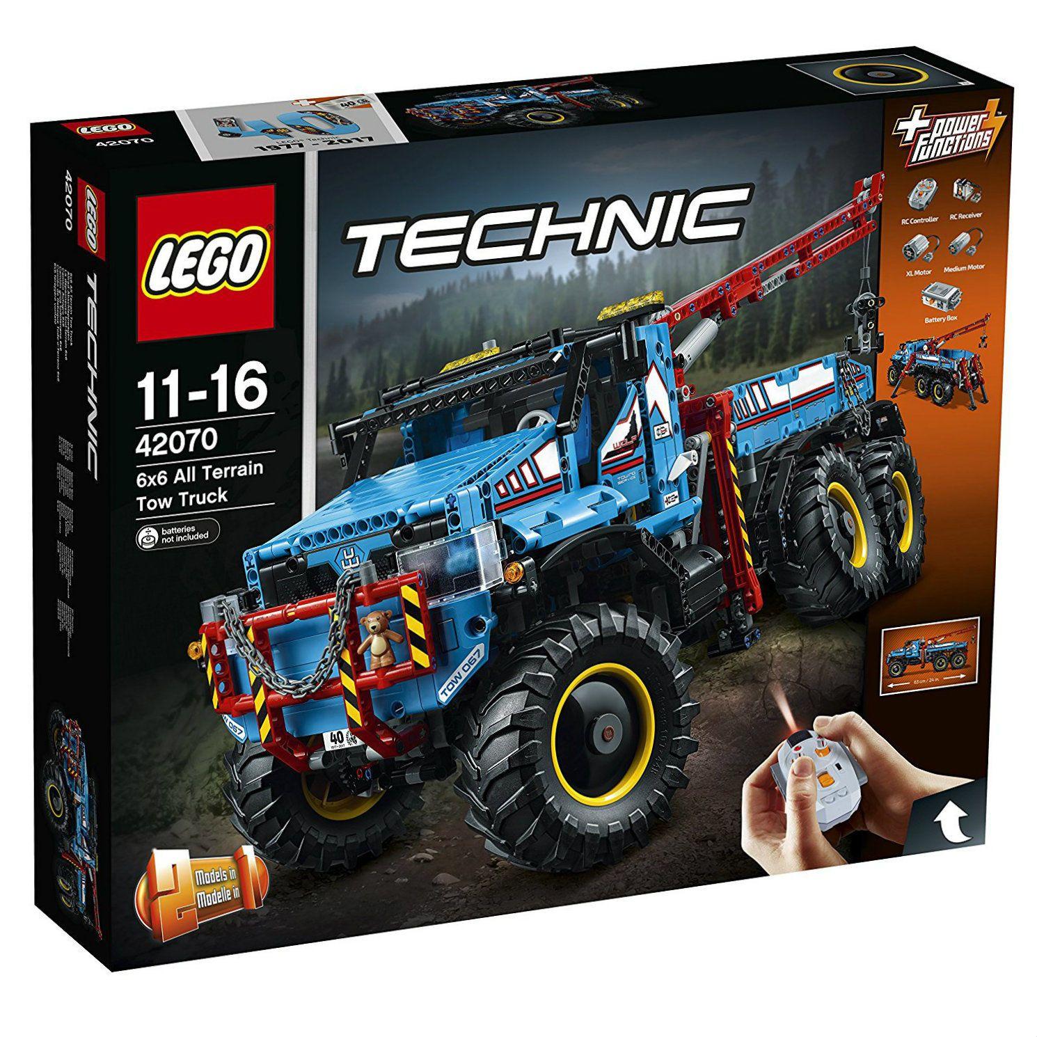 LEGO Technic All Terrain 6 x 6 Tow Truck Remote Control