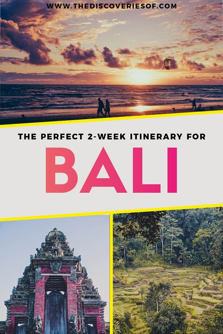 Bali Travel Itinerary - One of the ultimate travel destinations in Asia #travel #traveldestinations #bali