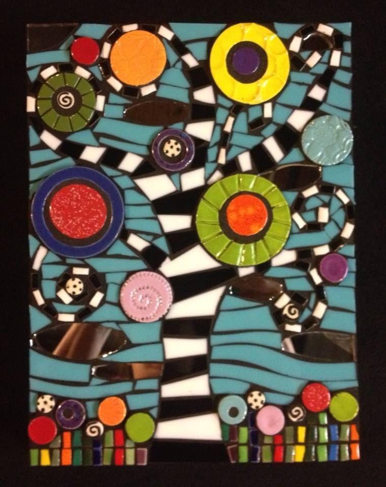 Trees and nature mosaicos pinterest mosaicos cuadro - Como pintar mosaicos ...