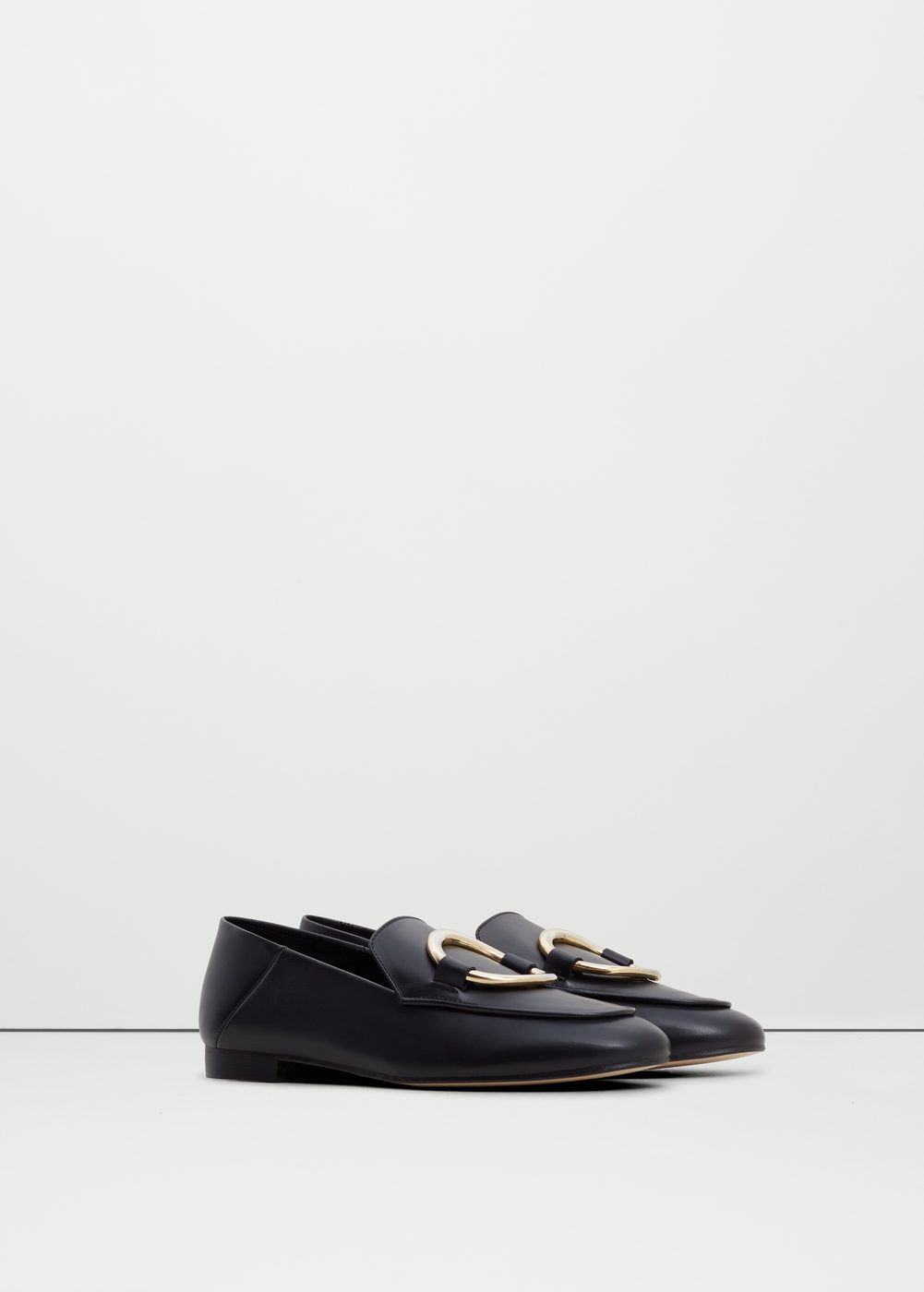 Leather United Appliqué Qdxhcbtsr Kingdom Womanmango Loafers PZOkuXi