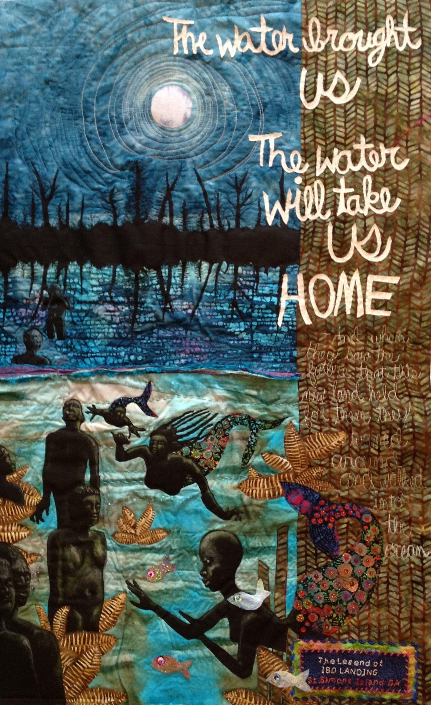 Laura Gadson Art Quilt