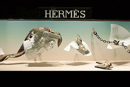HERMES WINDOW DISPLAY 2015 / FRANCE on Behance
