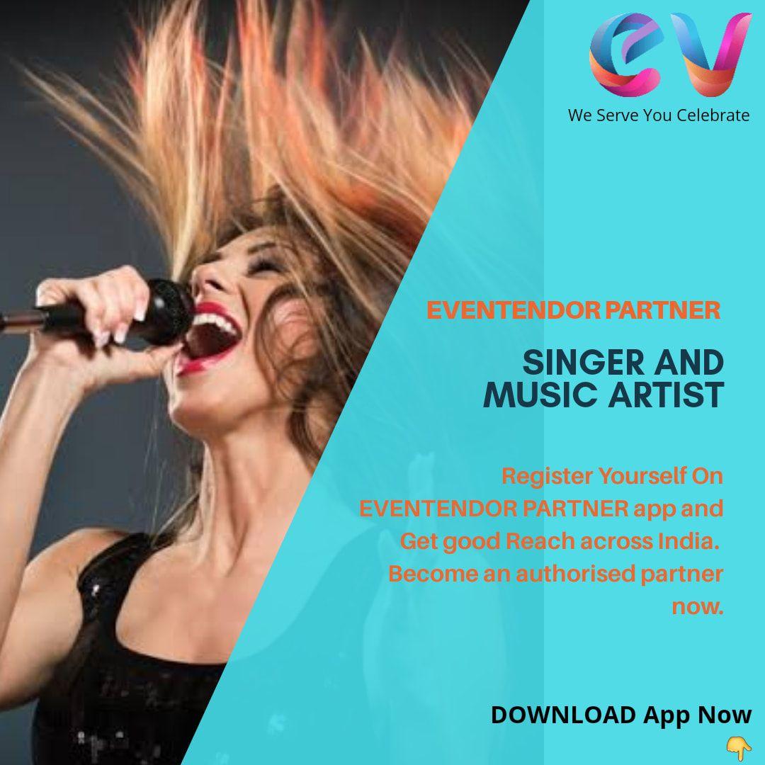 All Singers And Musician Get Online Order For Event Register Now Singer Musician Eventendor Singer Wedding Dj Vendor Events