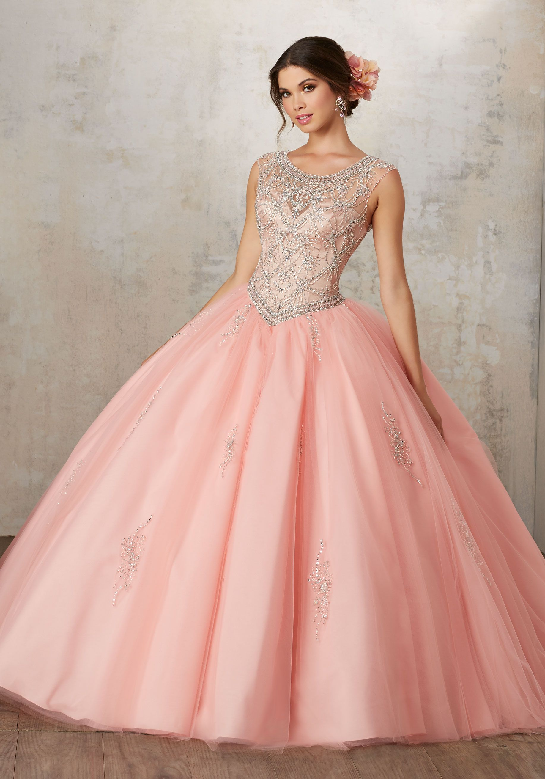 Morilee Quinceanera Dresses STYLE NUMBER: 89129 Jeweled Beading on a ...