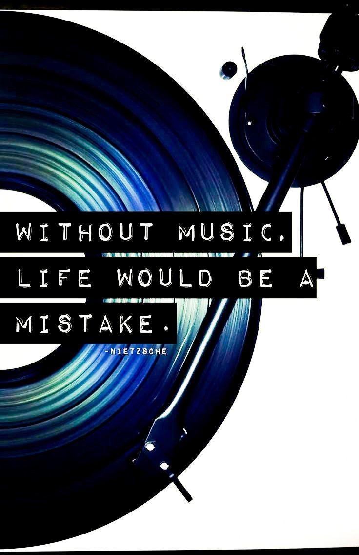 music = life  Printable inspirational quotes, Inspirational