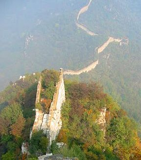 The Great Wall of China. Can't wait to be back there next month