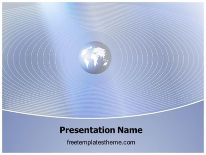 Download Free Global Communication Powerpoint Template For Your