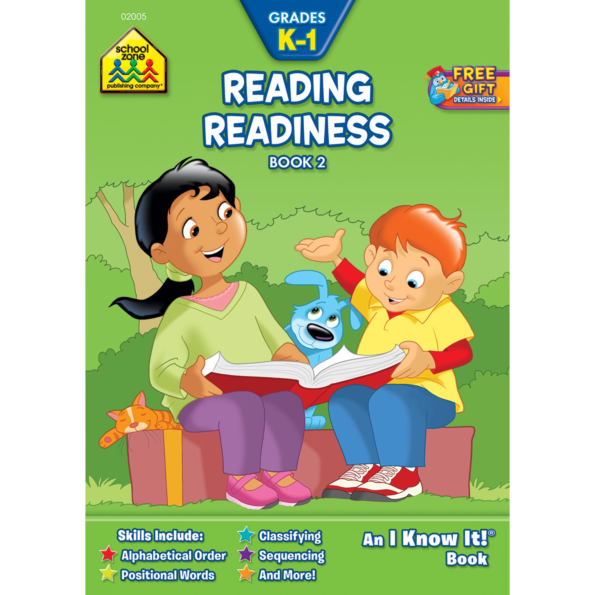 Reading Readiness Grades K 1 Workbook Book 2 Kindergarten Books English Learning Books Teacher Books [ 2048 x 2048 Pixel ]
