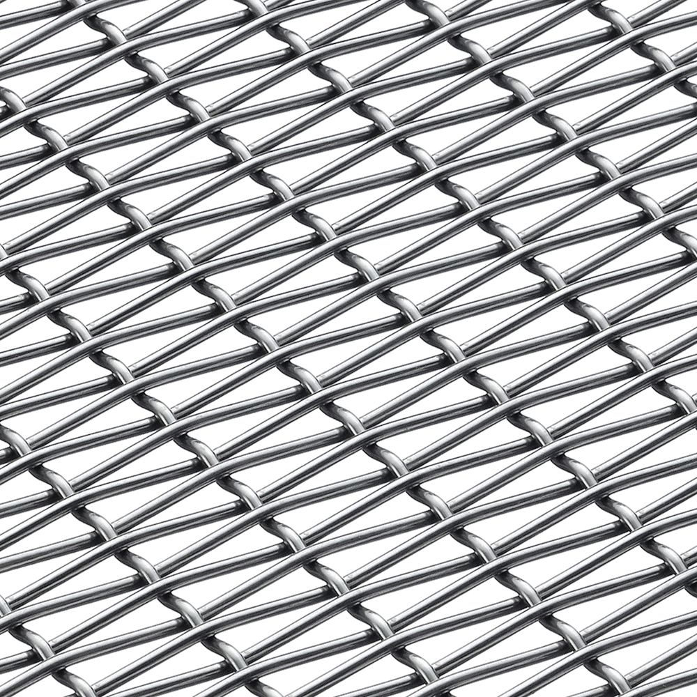 Banker Wire Mesh PZ-11 is a simple and elegant rectangular plain ...