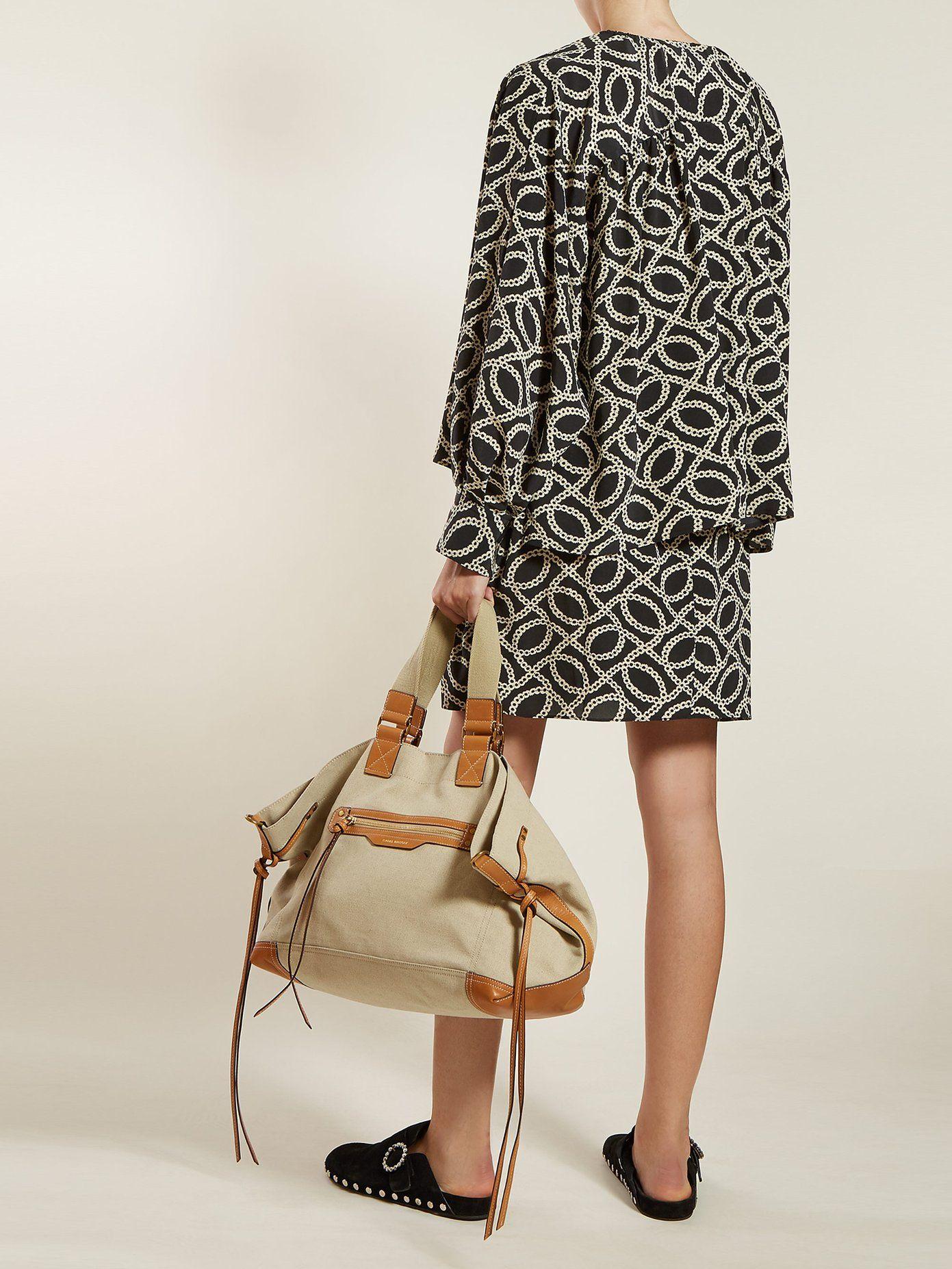 59808b8ed Wardy canvas tote bag | Isabel Marant | MATCHESFASHION.COM US | j ...