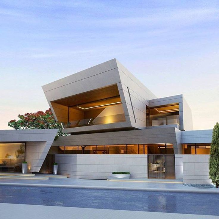 Pin By Mohamed O On Modern Villas: Modern House Design & Architecture : 16473862
