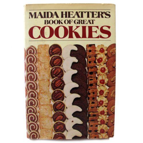 Maida Heatters Book Of Great Cookies Cookbook In 2019 Cookbooks