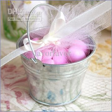 Wholesale Candy Boxes Buy Galvanized Mini Pails Wedding Favors