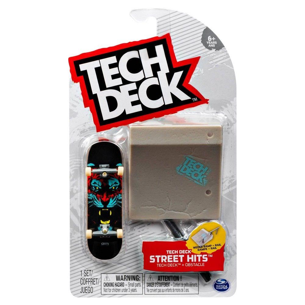 Tech Deck Street Hits Ramp Rail Tech deck, Deck, Deck