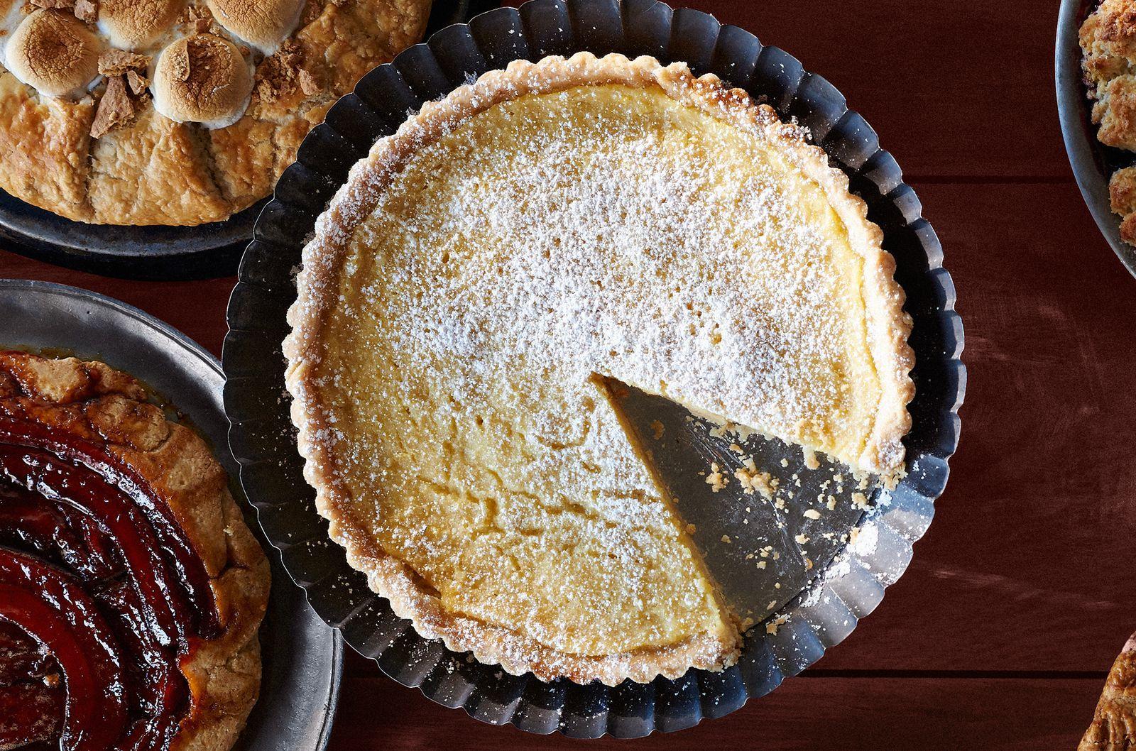 Lemon Buttermilk Tart Recipe Buttermilk Tart Thanksgiving Pie Recipes Fruit Pie Recipe
