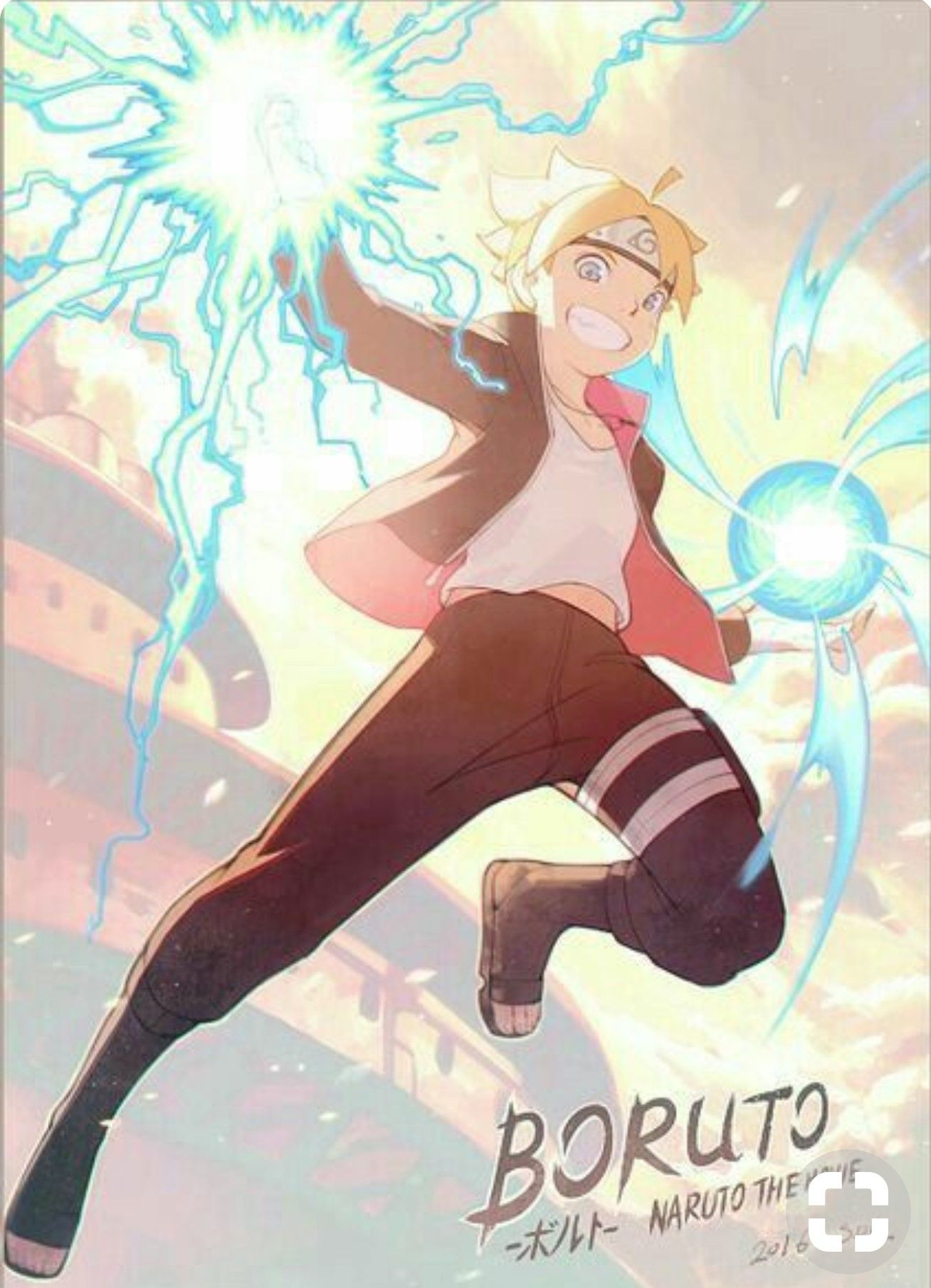Boruto Rasengan and chidori | boruto and naruto | Boruto