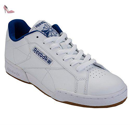NPC II S, Sneakers Basses Homme, Noir (Black/White), 44.5 EUReebok