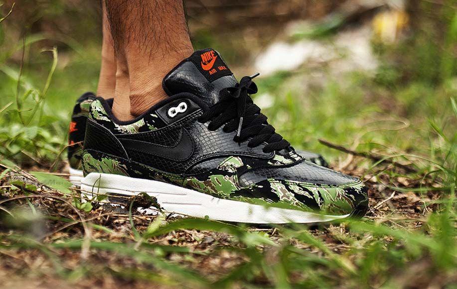for whole family buy uk availability Nike Air Max 1 Premium - Animal Camo - Black Snake Skin ...