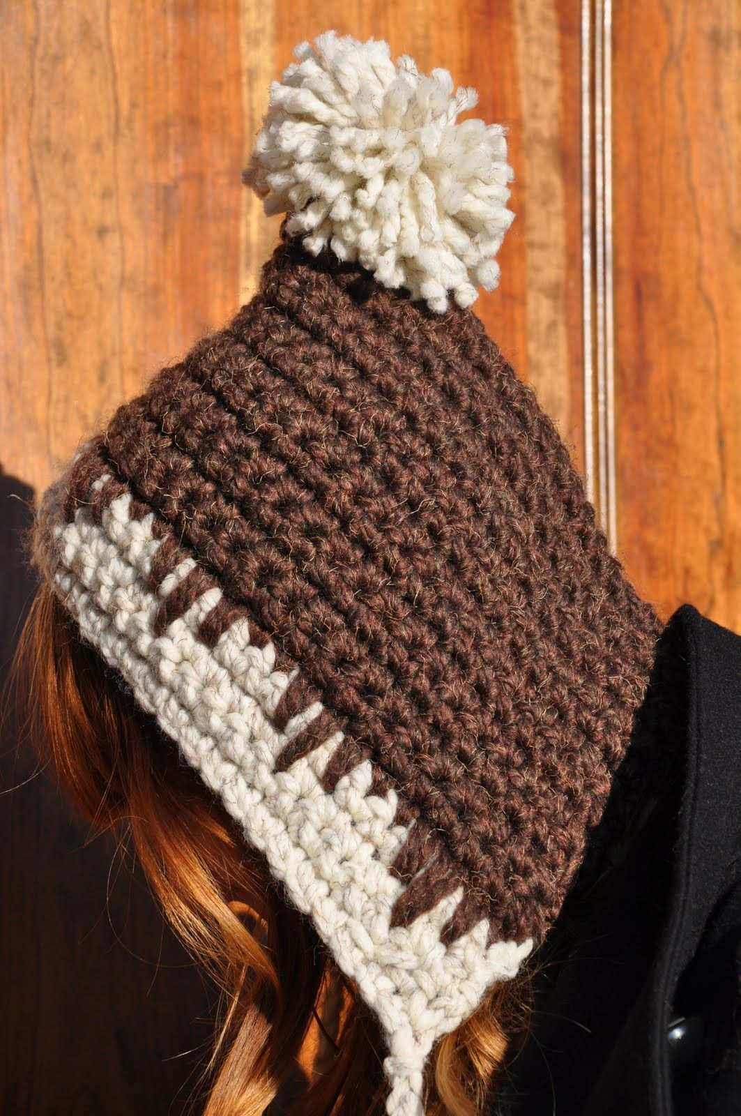 easy crochet hat....pattern free | crochet | Pinterest | Gorros ...