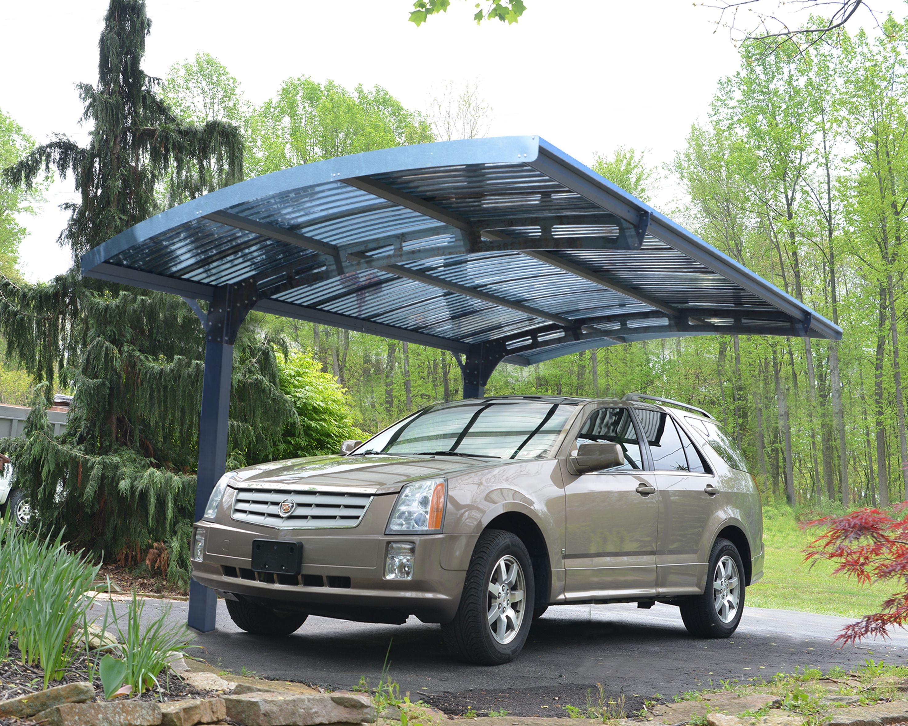 The Arizona Is A Uniquely Designed High Performance And Robust Carport And Outdoor Structure It Was Crafted Metal Carports Carport Designs Metal Carport Kits
