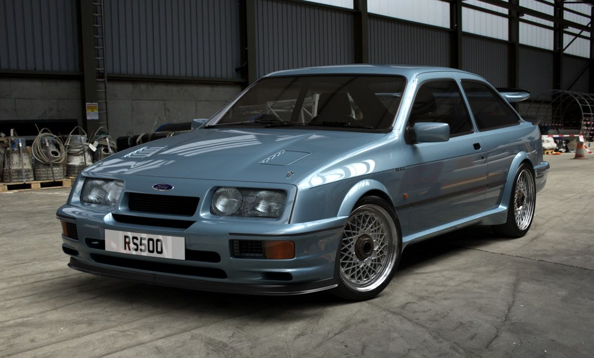 Click This Image To Show The Full Size Version Ford Sierra Car