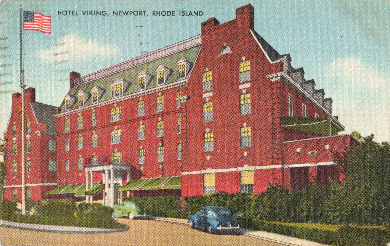 Postcard Hotel Viking Newport Rhode Island Eastern Usa Postcards