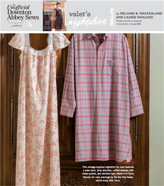 VALET\'S NIGHTSHIRT: Free Sewing Pattern | Tea cozy, Sewing patterns ...