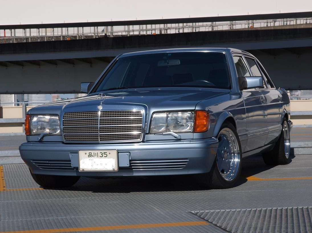 Mercedes benz amg s w126 japan products i love for Mercedes benz japan