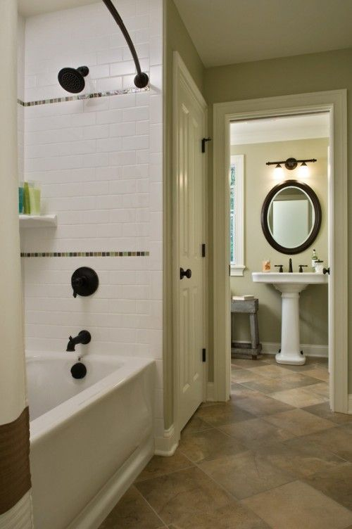 Bathroom With Pedestal Sink And Lighting Above Have The Sink