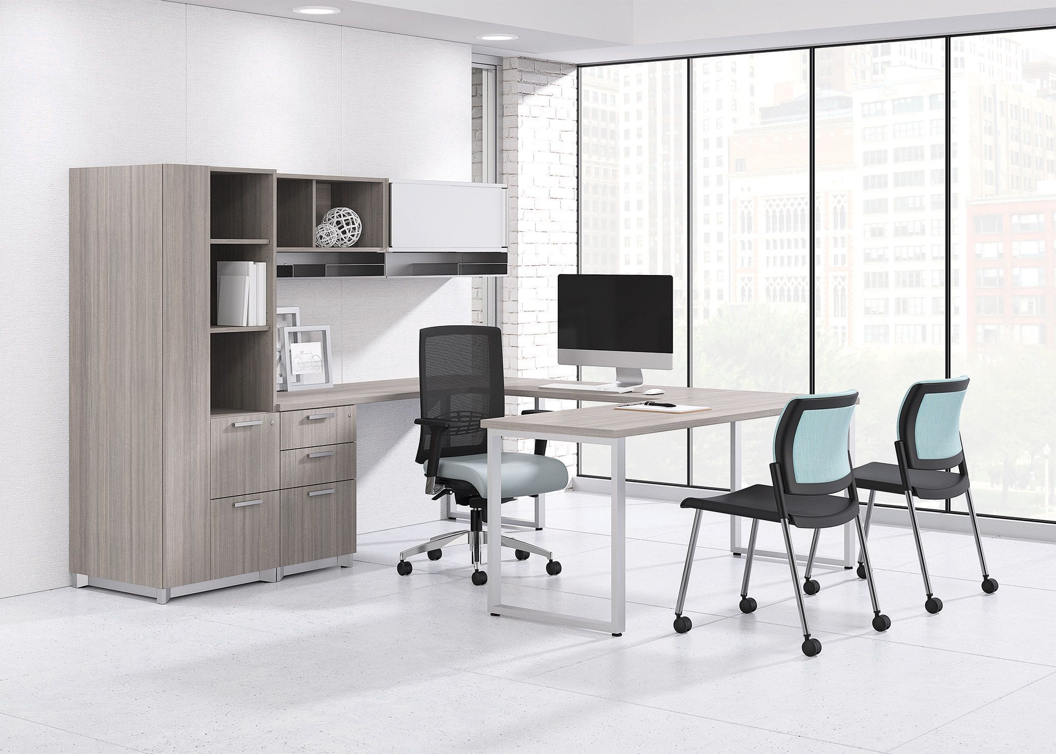 Epic Work Station Desk Private Office Desk Private Office