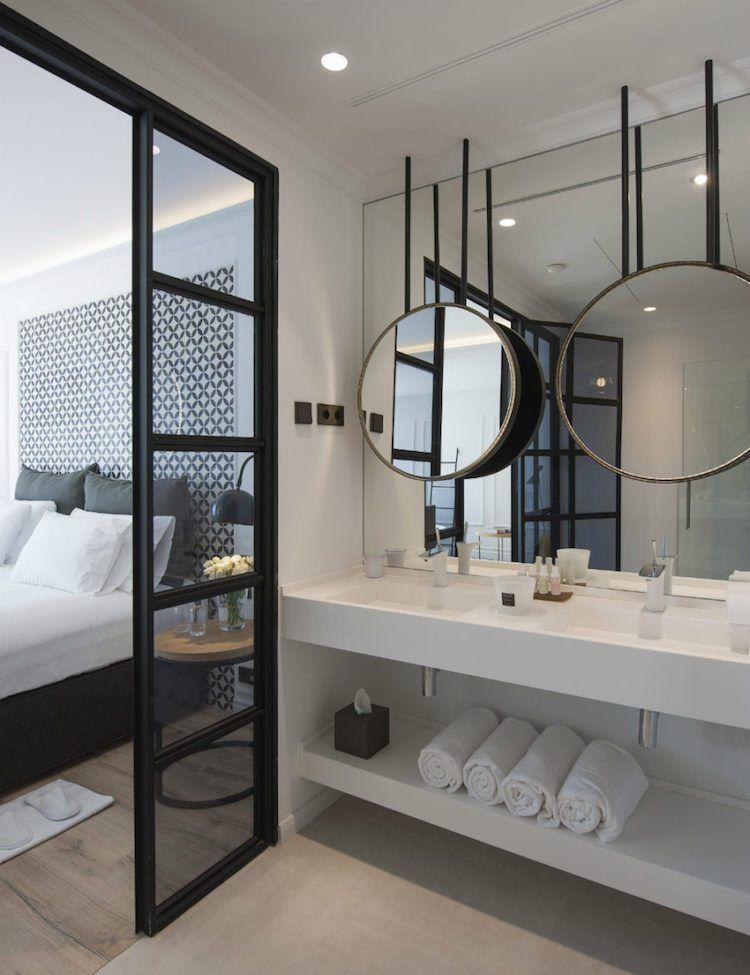 Chambre avec salle de bain s inspirer de certains des - Belle mere dans la salle de bain ...