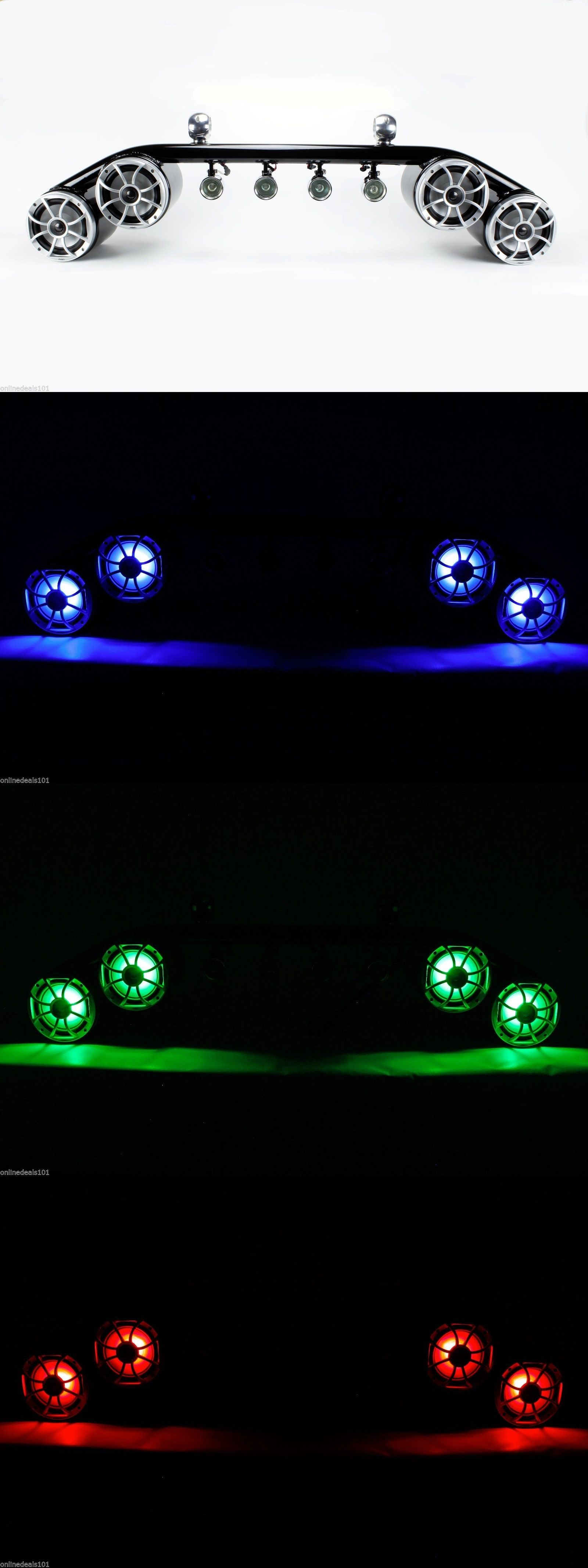 Wakeboards 47363 wet sounds rgb wakeboard boat tower light bar wakeboards 47363 wet sounds rgb wakeboard boat tower light bar speaker combo 4x4 new aloadofball Gallery