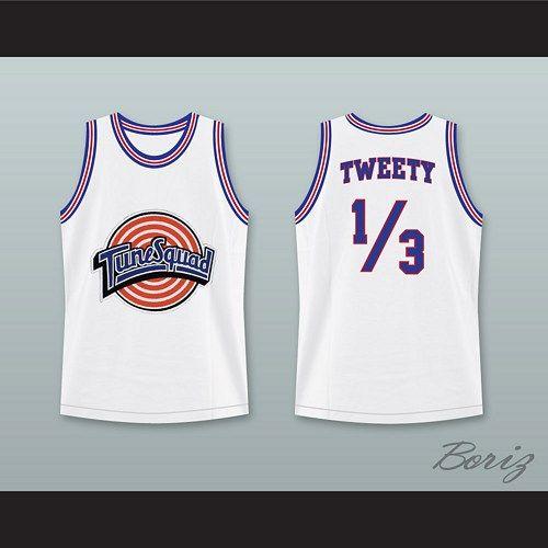 3b1e9c259 Space Jam Tune Squad Tweety Bird Basketball Jersey