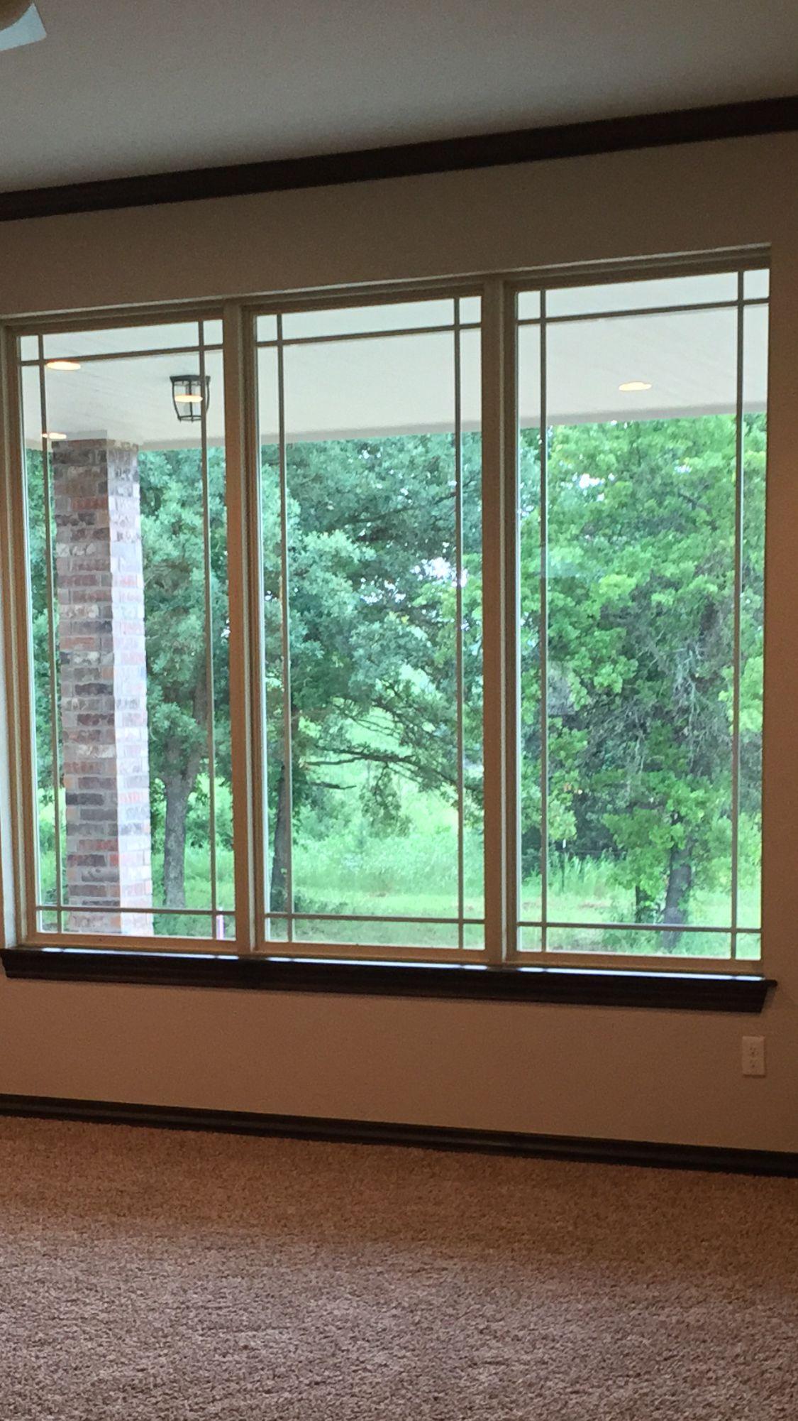 Prairie Style Windows