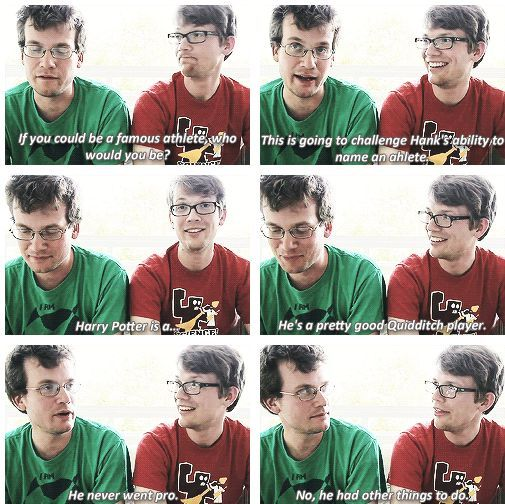 these guys... the vlogbrothers are several kinds of awesome :P << isn't one of them John Green? :)