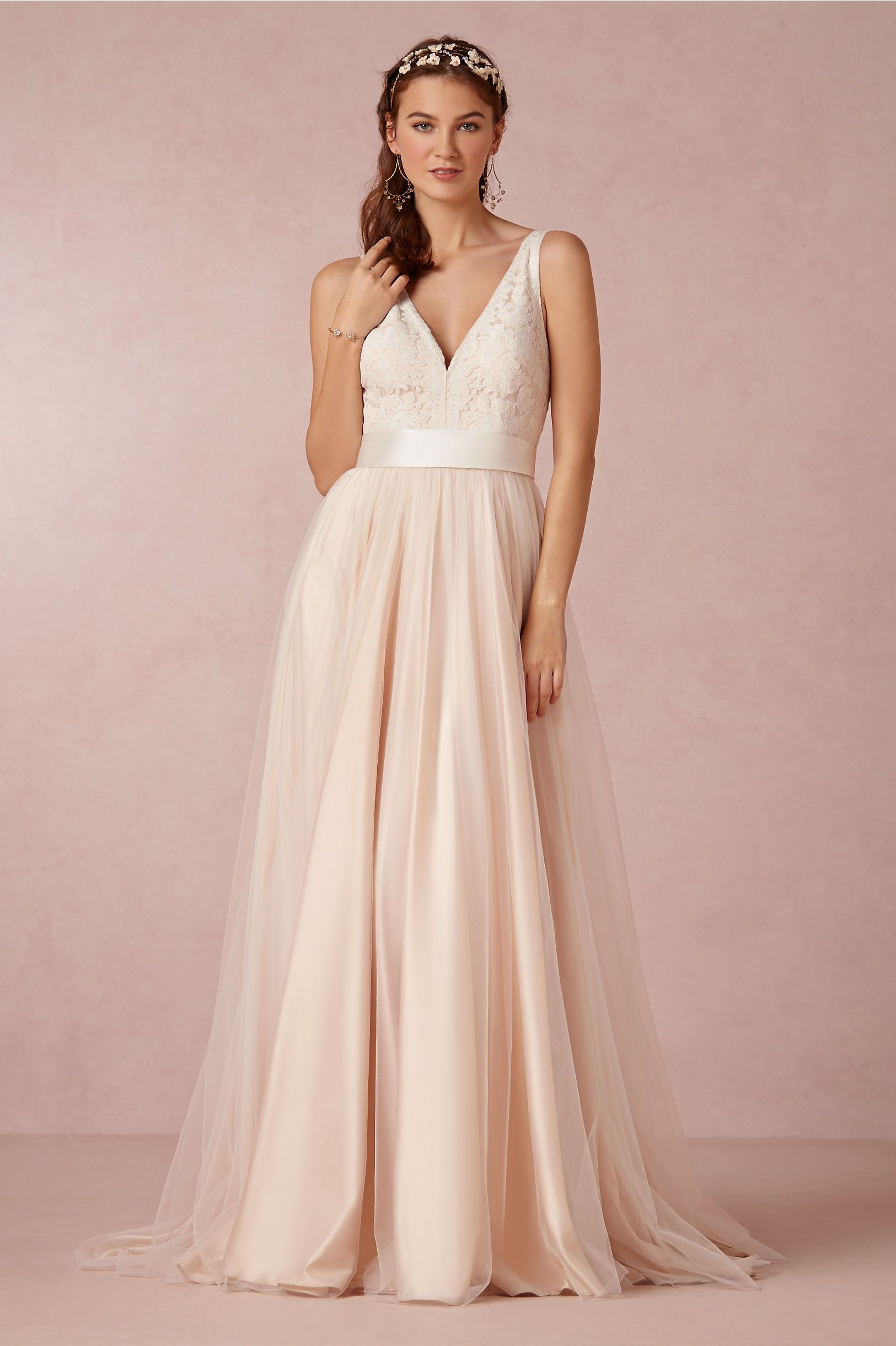 Tamsin Gown from BHLDN- where can I wear this and not look ...