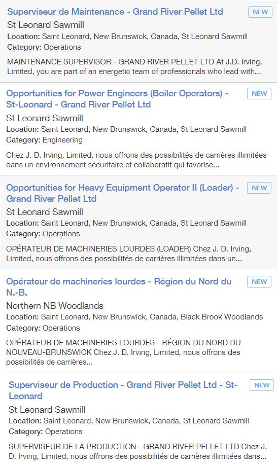 Career Employment Center Grand Falls Edmundston Restigouche Grand Falls Employment Center Edmundston