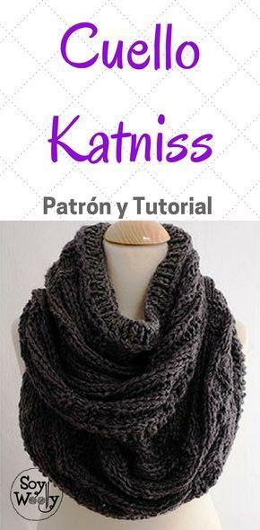 Bufanda Infinita-Chaleco en dos agujas: Katniss Cowl   Tricotar, Los ...