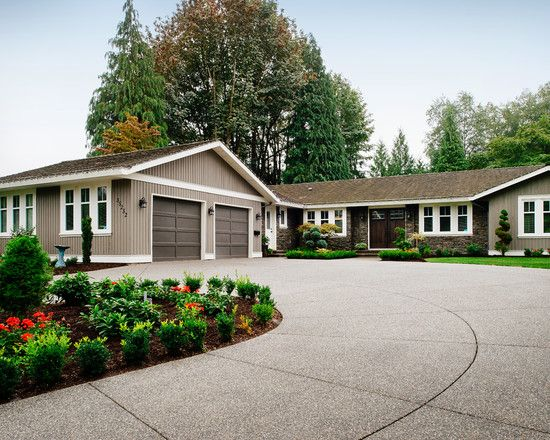 Interesting Ranch House Curb Appeal Decorated Exterior Design Ranch Exterior Ranch House Exterior House Exterior