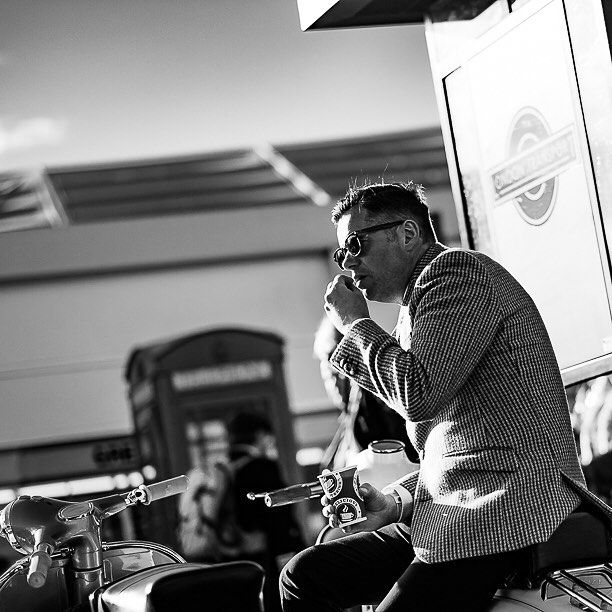 #streetphoto #bw_street #blackandwhite #blacknwhite #goodwoodrevival #bw #street #streetphotography #streetshooter #people #streetlife #fuji #candid #street_persons #bnw #reportage #photojournalism #collection_bw #collection_street #streetphotographers #shootsomeone #pocket_streetlife #ig_street #bnw_street #StreetLife_Award #ig_street #ig_steet_photo #repostmyfuji  #mods #scooter #goodwood