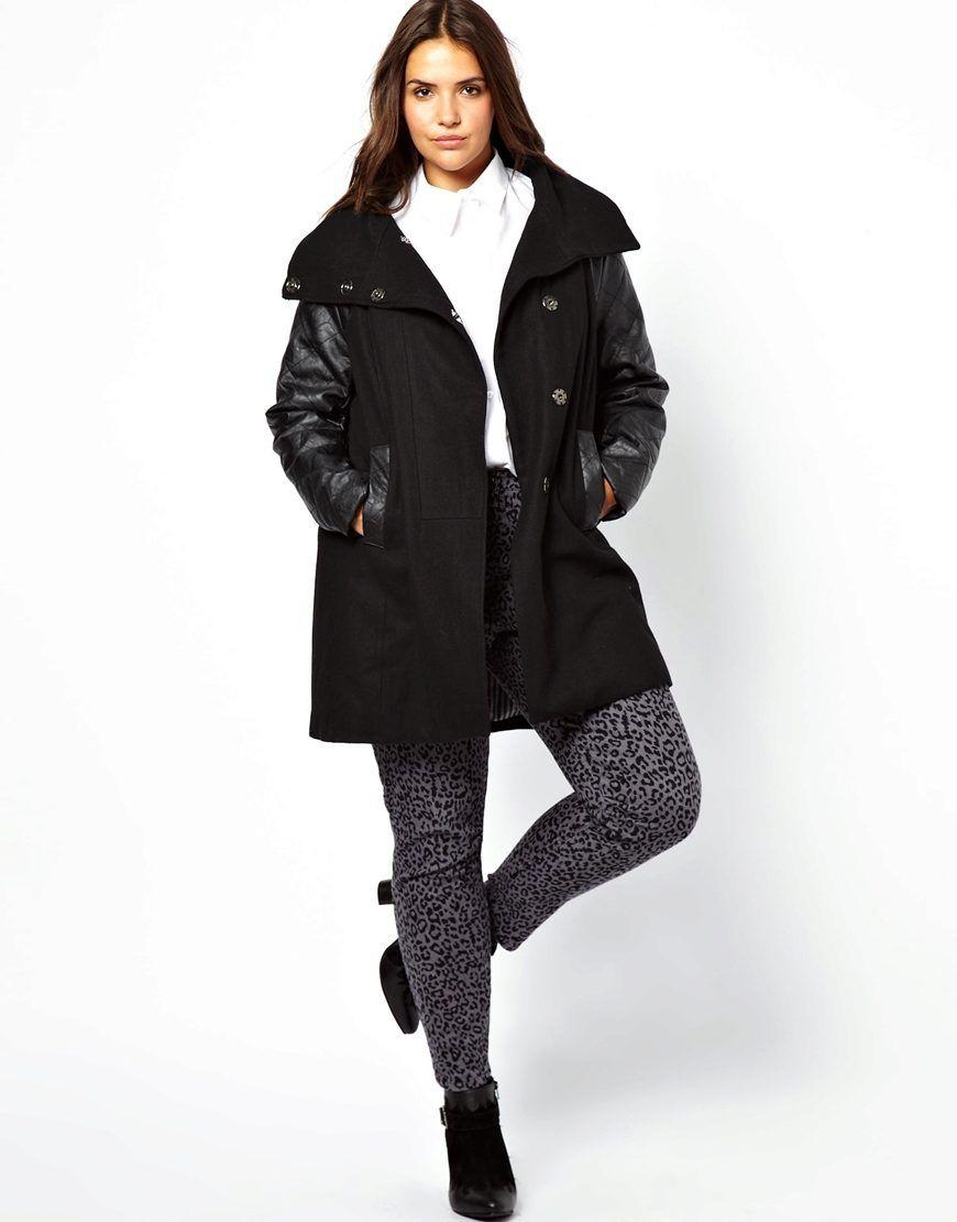 женские кожаные куртки больших размеров 7