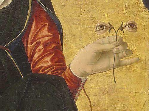 Northern renaissance painting (detail).