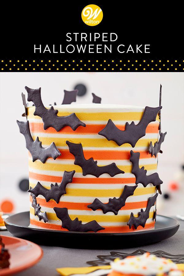 Spooky Bat Cake