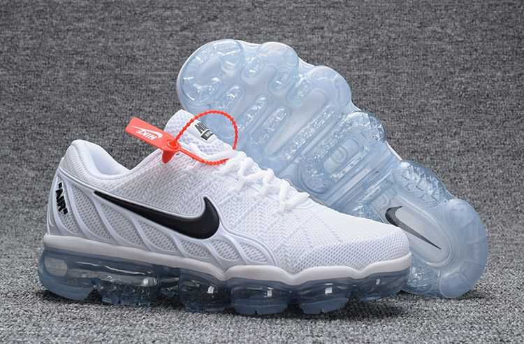 79a87a0282e9 Nike Air Max 2018 Leather White Black Running Shoe
