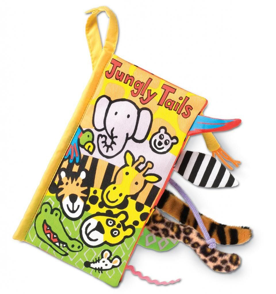 Jellycat Soft Books Jungly Tails Jellycat Book Soft Book Baby Book