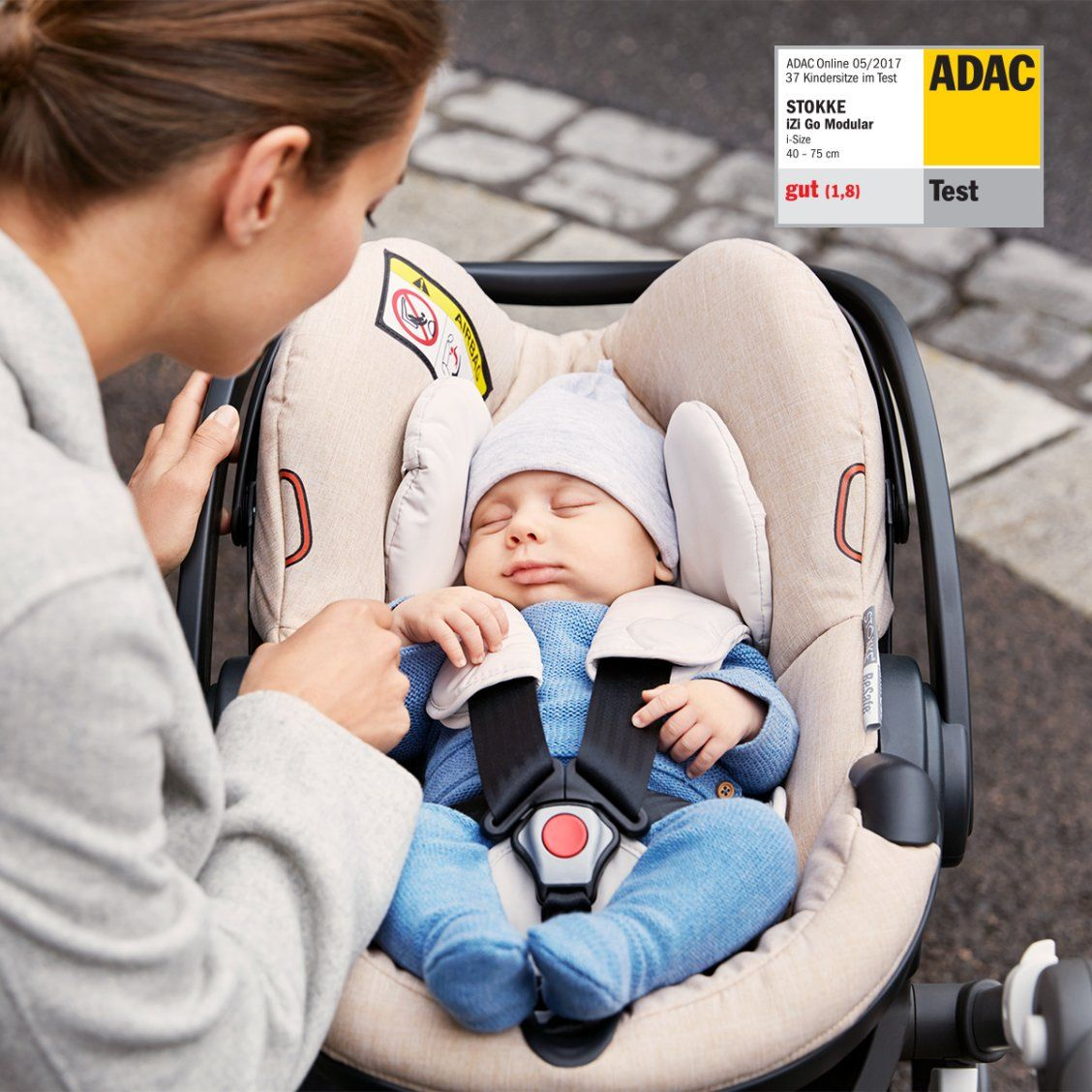 Stokke Izi Go Modular By Besafe Black Melange Safe Cars Baby Car Seats Car Travel