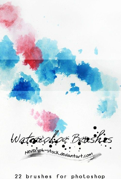 Brush Preview Watercolor Brushes Illustration Dessin Animation