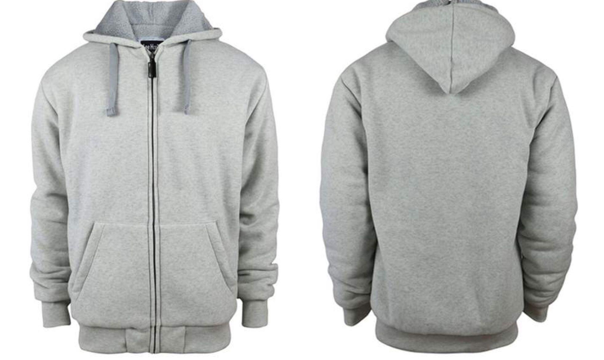 Recipe Jackets Sherpa Lined Jacket Mens Sportswear [ 1170 x 1963 Pixel ]