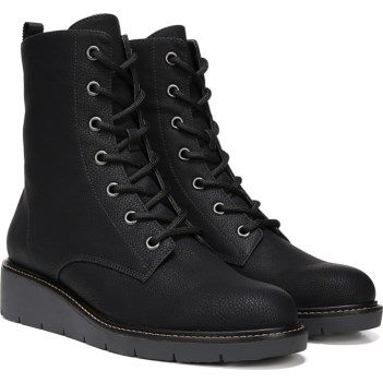13f34054d831 Dr. Scholl s Women s Straight Up Lace Up Boot at Famous Footwear ...