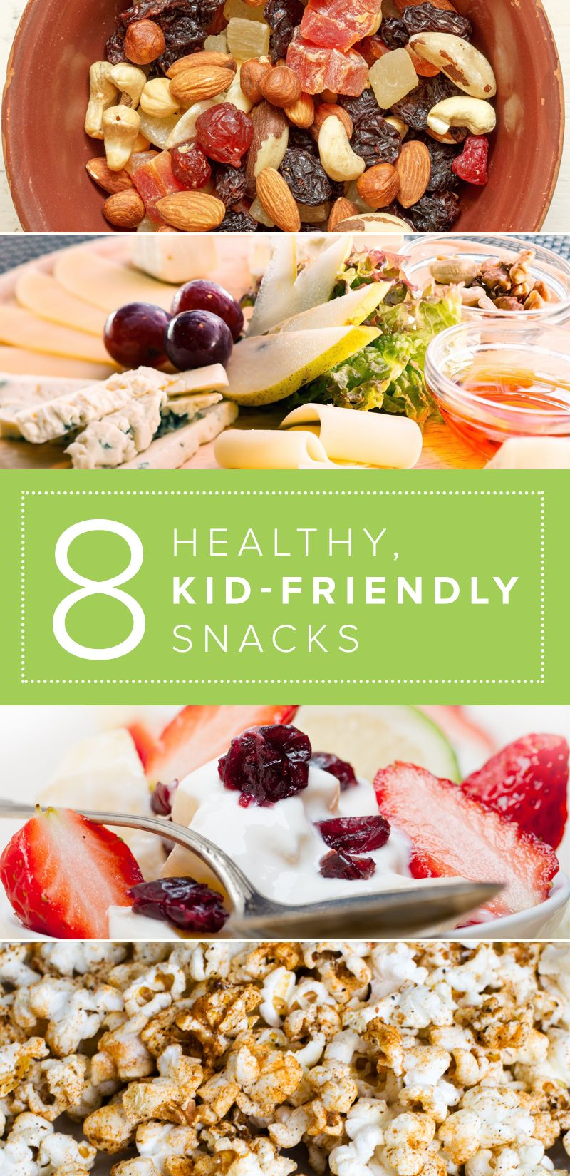 8 healthy snacks kids and parents will both love
